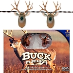 White Tail Deer Buck String Lights