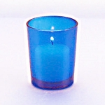 Blue Votive Holder