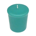 Aqua 15 hr Unscented Votive Candle