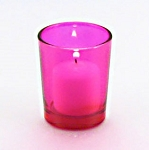 Hot Pink Votive Holder