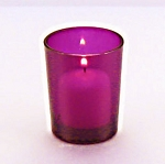 Purple Votive Holder
