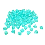 Teal/Aqua Acrylic Diamonds Table Scatter (1 lb) - 2 sizes