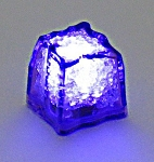 Purple LED Ice Cube