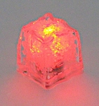 Red LED Ice Cube