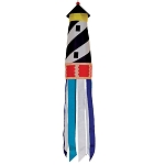 "40"" 3-D Cape Hatteras Fabric Lighthouse Windsock"