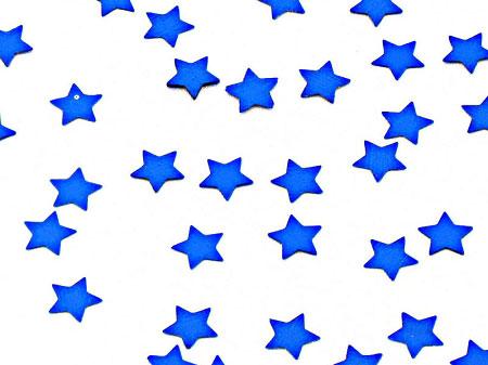 Blue Stars Blue stars confetti