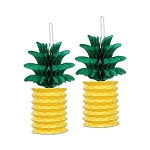 Paper Pineapple Lanterns (2)