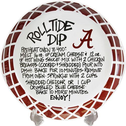 11 University of Alabama Ceramic Roll Tide Dip Recipe Bowl Bama
