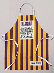 Louisiana State University LSU Tigers Apron