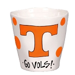 Large 20 oz. University of Tennessee Ceramic Wobbly Mug