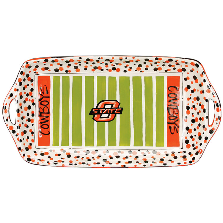 """Oklahoma State University Cowboys 16"""" Ceramic Stadium ..."""