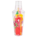 Tropical Cocktail Shaker Kit