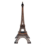 Paris Eiffel Tower Metal Centerpiece - 2 sizes