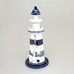 Blue Nautical String Lights : Nautical Striped Lighthouse String Lights Beach & Ocean Themed Party Decorations & Supplies