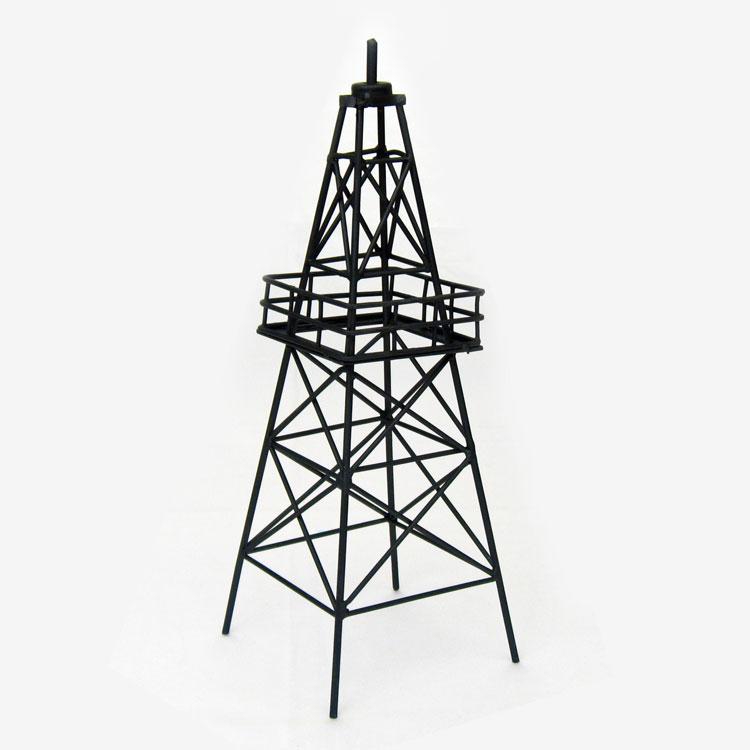 135 Metal Oil Derrick Centerpiece Texas Country