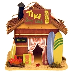 Decorative Tiki Surf Club Beach Shack Centerpiece