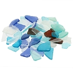 Faux Frosted Beach Sea Glass Pieces