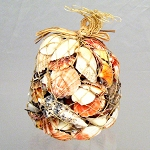 Assorted Sea Shells in Abaca Net - 1 Kilo