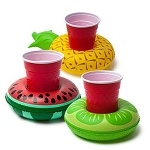 Pineapple, Lime & Watermelon Drink Floats (3)
