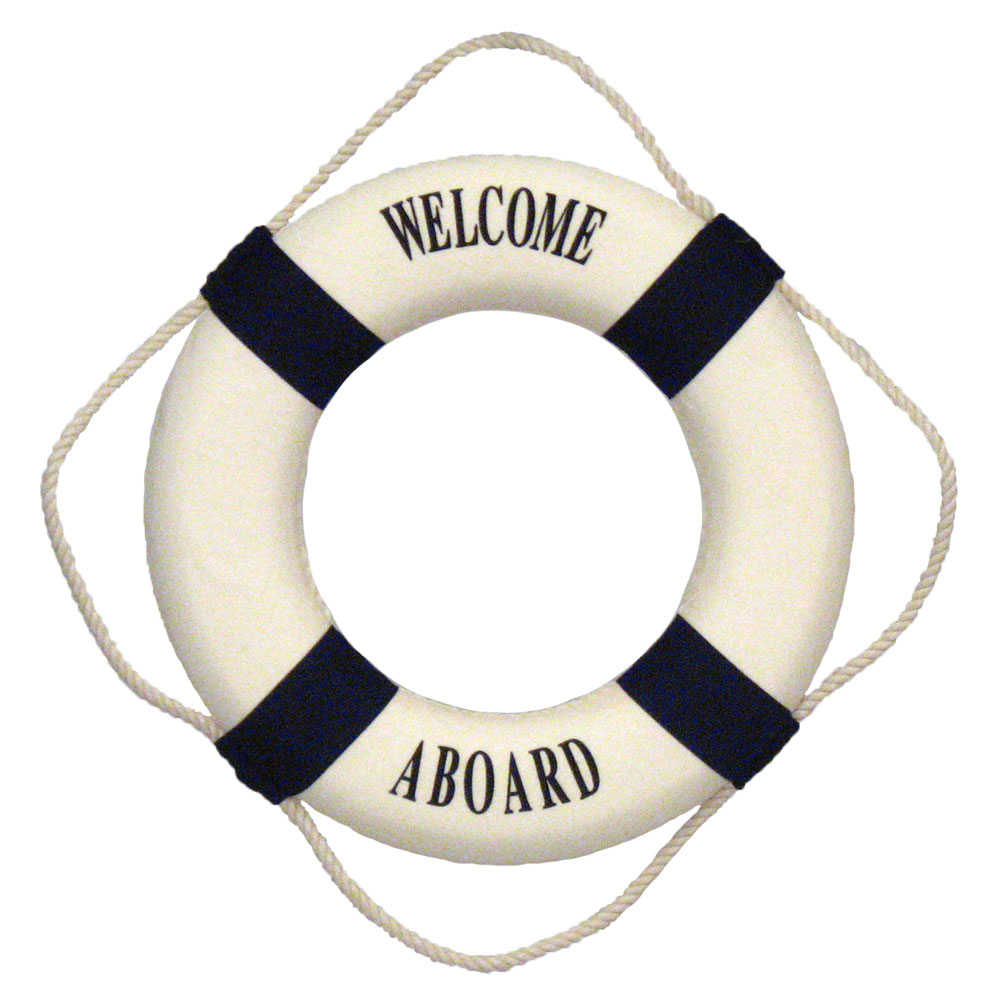 14 u0026quot  welcome aboard life preserver