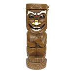 Solar-Powered Full Body Tiki God Light (style varies)
