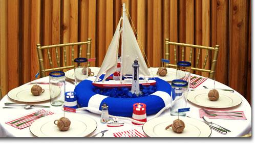 Lighthouse wedding decorating ideas