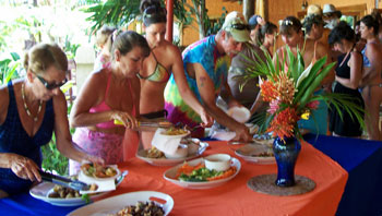 Pool Party Ideas For Adults adult pool party food table Noon Or Before Plan To Serve Lunch