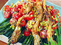 Grilled Prawns Tennessee Tailgating