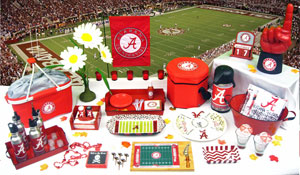 Tailgating Alabama Crimson Tide