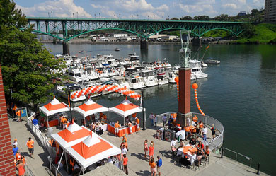 Tailgate Tennessee Vols Boats