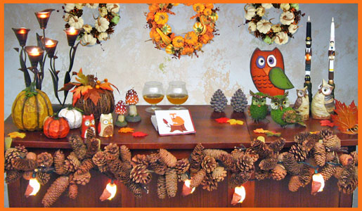 Autumn Fall Party Decorations