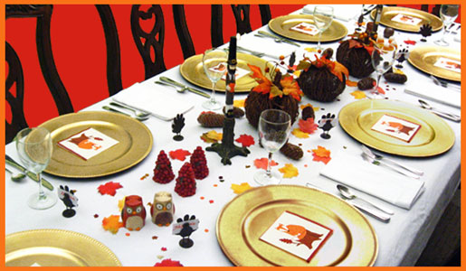 Fall Table Decorating Ideas Thanksgiving Centerpieces Candles