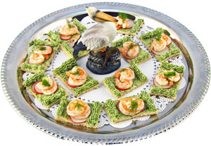Shrimp Canapes