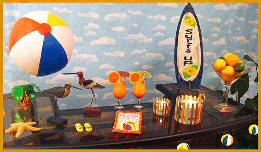 surfer beach party decorations that reflect your good taste - Beach Decorations