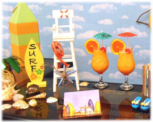 adult beach party ideas decorating hosting guide surfer decor - Beach Theme Decor
