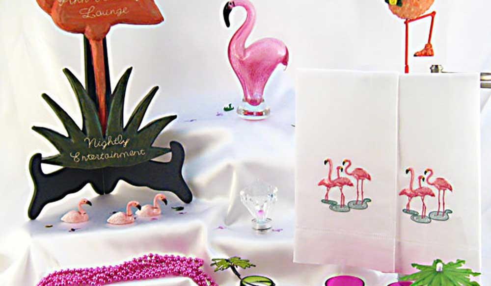 unique kitschy  u0026 stylish pink flamingo party decorations