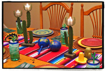 Mexican Fiesta Party Decorating Ideas u0026 Hosting Guide & mexican table decor | My Web Value