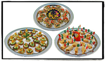 Mexican fiesta party decorating ideas hosting guide finally sprinkle mexican theme confetti sparingly down the center of the table around your centerpiece check out out the dinner party section for more forumfinder Choice Image
