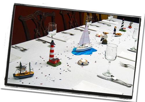 Nautical Centerpieces Reception amp Banquet Table Decorations