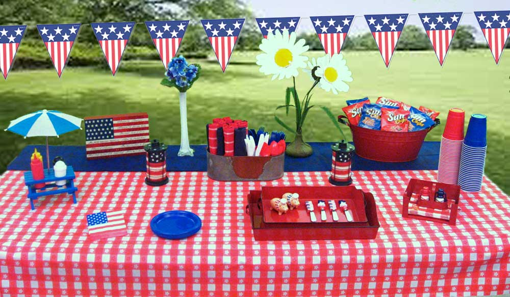 Patriotic Party Decorations | 4th of July | Memorial Day