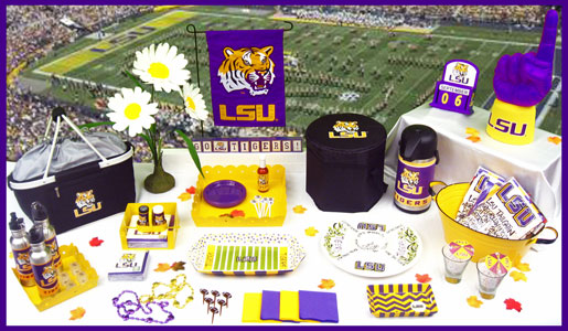 Louisiana State University Tailgating & Party Supplies. City Furniture Dining Room. Country Chic Home Decor. Lake Decor Items. Kansas City Interior Decorators. Safe Room Construction Plans. Witchcrafters Halloween Decor. Little Girl Rooms. 60th Party Decorations