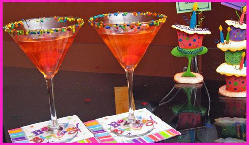 Напитки на день рождения рецепты с фото