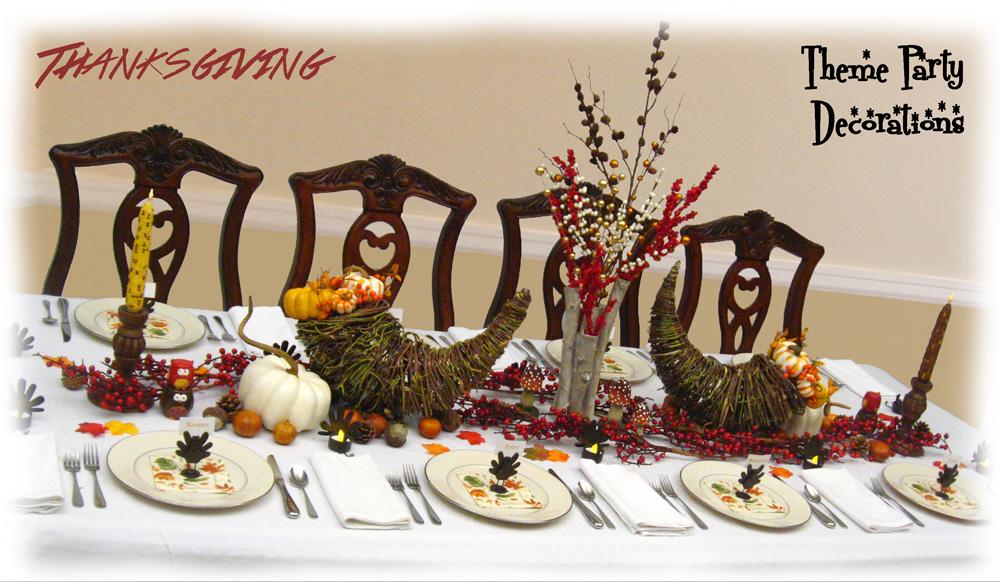 autumn fall centerpiece ideas thanksgiving dinner table decorations - Thanksgiving Dinner Table Ideas