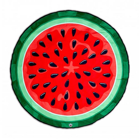 5-foot Round Watermelon Beach Blanket