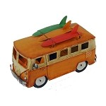 "10"" Surfer VW Beach Bus - Assorted Colors"