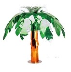 Metallic Foil Palm Tree Centerpiece