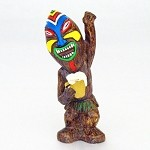 "7"" Partying Tiki God - 6 styles"
