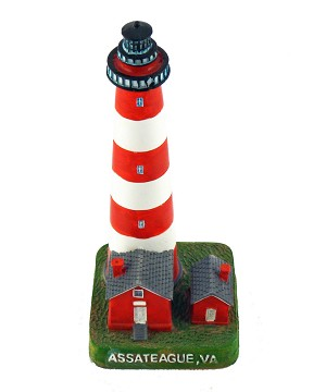 Assateague, Virginia Lighthouse, 7""