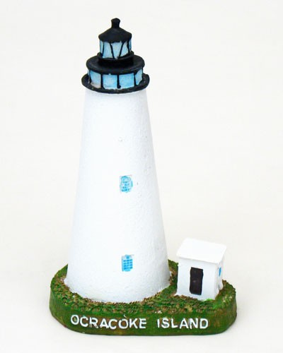 Ocracoke, North Carolina, Lighthouse, 5-1/2""