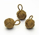 Mini Monkey Fist Rope Knot - 2""